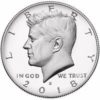 2018-S Silver 50C DC (Proof) Kennedy Half Dollar IN STOCK