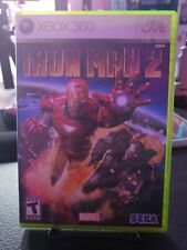 Iron Man 2 (Microsoft Xbox 360, 2010) Complete in box !!