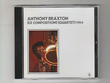 (CD) Six Compositions (Quartet) 1984 / Anthony Braxton / [Black Saint]