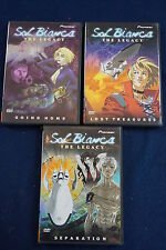Lot of 3 Sol Bianca the Legacy anime DVDs - going home, lost treasures, separati