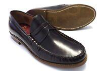 Merc Mens Oxblood Leather Retro,Ska,Northern Soul Tassle Loafers Shoe`s