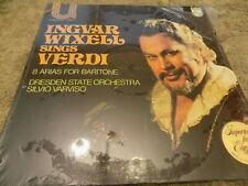 INGVAR WIXELL Sings Verdi...8 Arias For BaritoneLP SEALED Dresden State Orchestr