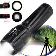 Mini Bright 6000LM CREE T6 Flashlight Zoomable 3*AAA Torch lamp Aluminum Alloy K