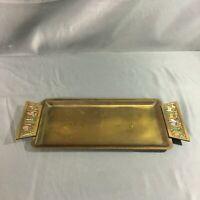 "Vintage Brass Tray Dayegi Israel 2200 12"""