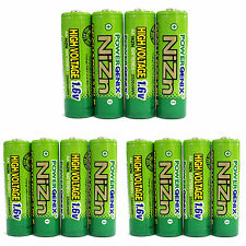 12 x 2500mWh 1.6V Volt AA 2A NiZn Rechargeable Battery Cell PowerGenix US Stock