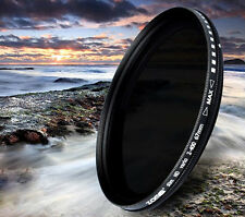 Zomei 52/58/67/77/82mm Slim Variable ND VND Neutral Density Lens Filter ND2-400