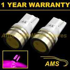 2X W5W T10 501 XENON PINK HIGH POWER LED SMD SIDELIGHT SIDE LIGHT BULBS SL100701