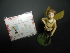 The Fairy Collection by Dezine Robin Figurine #5919 w/ Coa Limited Edition