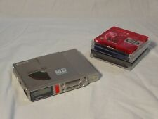 New ListingVintage Sony Mz-R37 MiniDisc Recorder Player Md Walkman with some discs