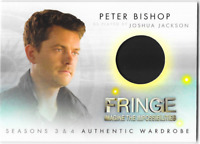 Fringe Seasons 3 & 4 Wardrobe Costume Relic Card Peter Bishop Joshua Jackson M1