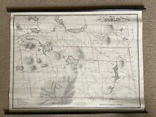 Map of Dublin New Hampshire by Fisk & Wadsworth Dates 1906 & 1853