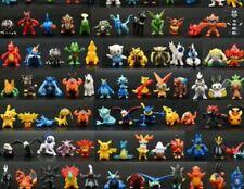 New Mini Pokemon Pikachu Action Figures Toy Collectible Model Anime Kids 2-3 CM