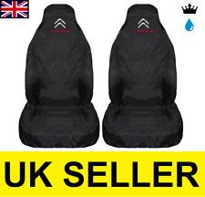 CITROEN C1 PREMIUM CAR SEAT COVERS PROTECTORS 100% WATERPROOF / BLACK