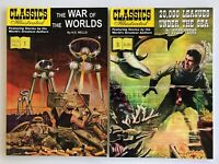 Classics Illustrated Softcovers War of the Worlds + 20,000 Leagues Under the Sea