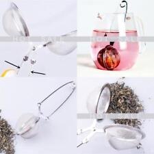 Stainless Steel Sphere Locking Tea Ball Strainer Mesh Infuser Tea Filter UK