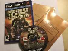 "Playstation 2 Jeu PS2 BROTHERS IN ARMS ROAD TO HILL 30 Complet Inc ""carte PAL"
