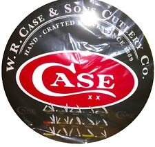 "CASE XX KNIFE COLLECTIBLE 24"" DIAMETER ALUMINUM METAL SIGN"