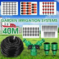 40M Tropfschlauch Automatische Bewässerungssystem Micro Garten Schlauch