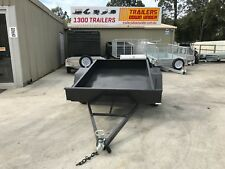 6x4 M/Duty Box Trailer - Smooth Floor -Fixed Front - Aussie Made!!!