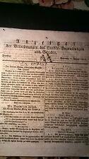 1811  Anzeiger 7b / Probst aus Poxdorf / Göppmannsbühl