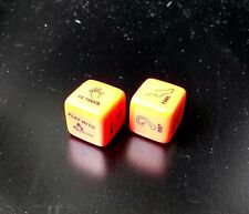 1 Pair Erotic Red Sexy Dice Game Toy For Bachelor Party Funny Adult Couple