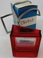 1968 Plymouth Valiant NOS MOPAR Driver Backup Light Lamp Lens & Gasket
