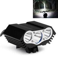 10000 Lumen USB White LED Bicycle Bike Head Light Lamp Headlight Headlamp Torch