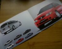 2003 Holden VY Commodore 25th Anniversary original Australian foldout brochure