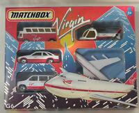 Matchbox Skybuster Gift Set G6 - Virgin Atlantic - Ford Sierra/Skybuster/Coach +