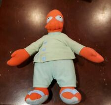 Futurama Dr. Zoidberg Stuffed Plush Doll Toy Figure Cartoon Show Crab RARE
