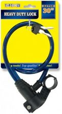 Heavy Duty Lock Flexible Cable Bike Bicycle Motorbike Lock with 2 Keys