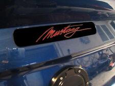 2005-2009 Mustang 3rd Brake Light Vinyl Decal Overlay - Mustang Cursive