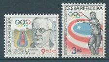 290421) Tschechische Republik Nr.105+116** Olympiade