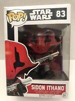 "POP! ""Awakening of Star Wars Force"" Captain Sidon Ithano Funko #83 New W Tag"