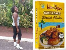 Island Spice Jamaican Special Chicken Coat and & Bake Seasoning Shake 1 lb pound