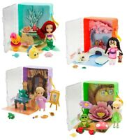 Disney Princess Mini Animator Doll 6 Piece Toy Playset Ariel Tinkerbell moana
