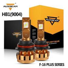 New listing Auxbeam Pair 9004 70W 7000Lm Led Headlight Bulb Decoder High Low 6000K Power Kit