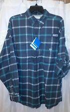 Columbia PFG Men's Bonehead Flannel Long Sleeve Shirt - NEW sz. Med FM0185-028