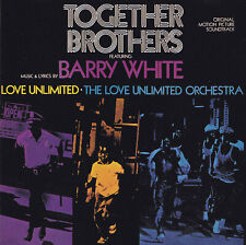 TOGETHER BROTHERS featuring BARRY WHITE - CD - ORIGINAL SOUNDTRACK