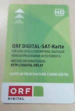 ORF HD Karte freigeschaltet