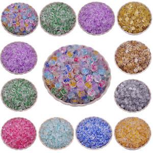 200PCS 7MM Mixed Letter Acrylic Beads Round Loose Alphabet Beads DIY Wholesale