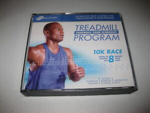 iFit Solutions Treadmill Running Program 10k race 6 Interactive Discs 10min mile