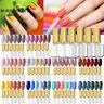 BORN PRETTY Soak Off Gel Nail Polish UV LED Need Top Base 6Colors/Set Multicolor
