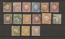 Duitsland Germany Deutschland classic states BAYERN BAVARIA anno 1881 - 1900 TOP
