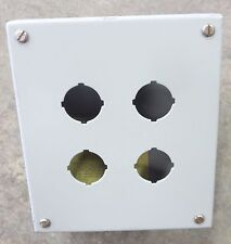 Hoffman Pushbutton Enclosure 4 Hole