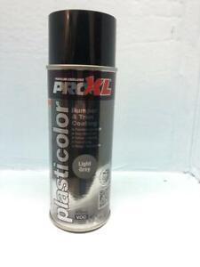 PROXL Plasticolor Bumper & Trim Coating Aerosol 400ml light grey