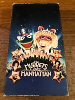 The Muppets Take Manhattan VCR VHS Tape Movie Cartoon G Used