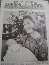 Photo article Duchess of kent and new baby Lady Helen 1964 rf AY