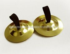 Professional 2 Pair(4 piece)Belly Dance pure copper Finger Cymbals Zills