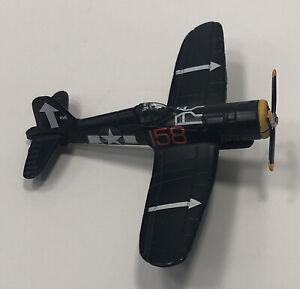 Maitso Diecast F4U-1D Corsair Vought Fighter Bomber Navy Blue WWII Plane 1:72
